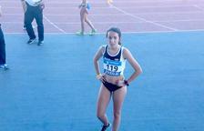 Andrea Bernal Castelló, quart lloc al Campionat d'Espanya d'Atletisme
