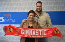 Recullen el premi de la bufanda del Nàstic del partit contra Valladolid - Nàstic