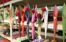 Un Sant Jordi 'llarg' per a la venda de roses