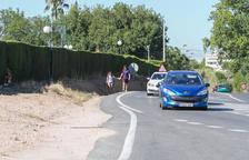 Urbanisme presenta una alternativa per 'accelerar' la vorera a Blancafort