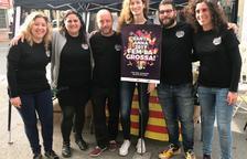 El cartell de Santa Anna 2017 mostra la Festa Major des de l'espai