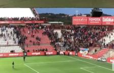 Incidentes entre aficionados al final del Nàstic - CF Reus