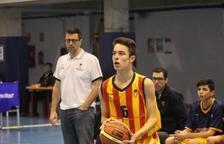 El jugador del CBT Gerard Estebanell, MVP del Torneig Sant Adrià amb la selecció espanyola sub 14