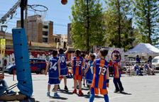 Prop de 300 infants participen al Repsol Futurbàsquet