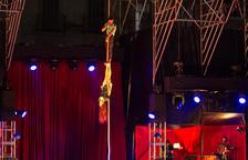 El Trapezi arrenca a ritme de Cabaret i promet quatre dies intensos de circ