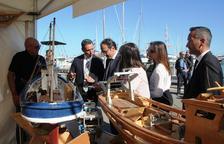 Josep Rull inaugura la 10a Fira Marítima de la Costa Daurada