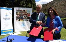 Arriben els 2 milions d'euros de Loteries i Apostes de l'Estat pels Jocs Mediterranis