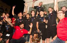 Festa grossa per rebre als campions d'Europa
