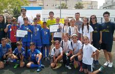 Dues escoles del Vendrell, a la fase final del Cruyff Court a Igualada