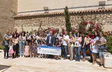 L'alcalde de la Canonja rep una trentena de noves famílies que s'han beneficiat del xec nadó