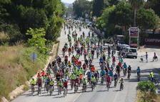 Prop de 350 bicicletes prenen Torredembarra