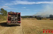 Crema l'estructura d'una granja escola de la Selva del Camp
