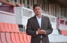 Lluís Fàbregas: «Hem decidit parar el partit per no córrer risc de lesions»