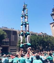 Els Castellers de Sant Pere i Sant Pau no tenen límits i porten el 3de8 a Sabadell