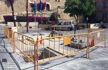 Calafell remodela la plaza de Cataluña para dinamizar el centro