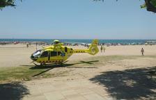 En estado crítico un niño de 10 años que ha estado a punto de ahogarse en la playa de Coma-ruga, en el Vendrell