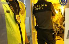 Desmantelan una nueva plantación de marihuana en una vivienda ocupada en Calafell
