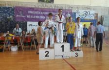 Una esportista del Club Esportiu MyJu Cunit, campiona a l'Open del País Basc