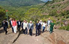 Una actuació mediambiental millora l'entorn de l'Ermita de la Roca i redueix el risc d'incendis