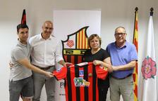 Jordi Garcia: «Poder fitxar pel Reus Deportiu és per a mi un somni i un privilegi que s'ha fet realitat»