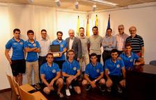 Recepció al primer equip del Club Hoquei Vila-seca pel seu ascens a Nacional Catalana