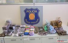 Set detinguts de dos grups criminals per tràfic de drogues al Baix Penedès