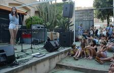Joves estudiants de música de la Selva del Camp actuen al Racó de la Palma