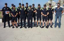 Vuit agents reforçaran la policia local del Vendrell a l'estiu