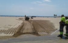 Tancada durant 24 hores una zona de la platja de la Paella a causa d'una avaria