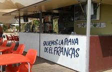 Salvem la platja del Francàs recull més de 700 signatures en deu dies