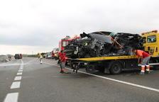 Dos morts i dos ferits greus en un accident a la C-14 a Alcover