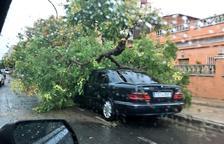 El 112 rep unes 400 trucades per incidències a causa de la pluja, la majoria des del Baix Camp i el Tarragonès