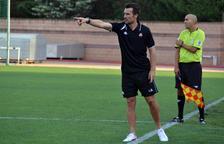 López Garai: «No se m'ha fet estrany el primer partit com a entrenador»