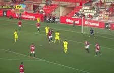 Mira el resum del Nàstic-Vila-real (2-0)