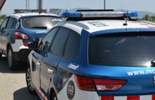 Detingut un conductor ebri per amenaçar i insultar els Mossos després d'accidentar-se