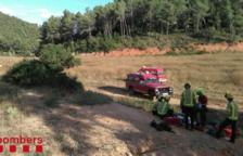 Rescaten en helicòpter un ciclista accidentat fent la ruta del Cister