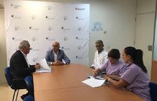 Els voluntaris de Tarraco Salut seguiran acompanyant els pacients del Sociosanitari Francolí