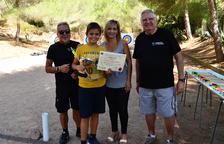 Una seixantena de joves arquers participen a la 14a Festa de l'Arqueria