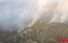 Els Bombers donen per extingit l'incendi de Tivenys