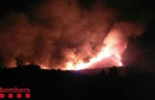 Tivenys torna a exigir dues pistes forestals després de l'incendi de la setmana passada