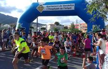 Prop de 350 persones participen a la 10ª Cursa Popular de l'Hospitalet de l'Infant