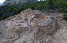 Arqueòlegs de la URV descobreixen la porta d'accés al poblat ibèric de l'Assut, a Tivenys
