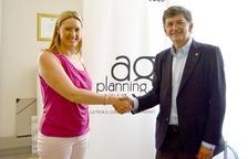 Acord entre el Nàstic i AG Planning Events