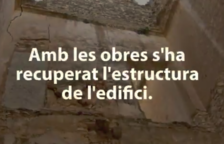 Un vídeo de la Diputació mostra la rehabilitació del castell de Rodonyà