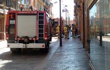Dos heridos en un incendio en Valls
