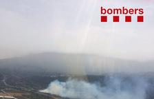 Dos incendis afecten la Conca de Barberà