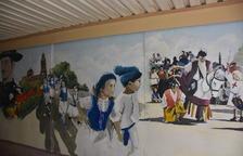 Pintures murals decoren el pas soterrat de la Sort