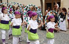 La cercavila dóna pas als actes més tradicionals de Santa Rosalia