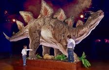 Dinosaures i mamuts envaeixen Tarragona