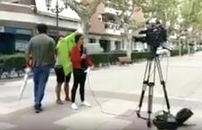 Denuncien des de Twitter una falsa agressió a un equip de TVE a Valls